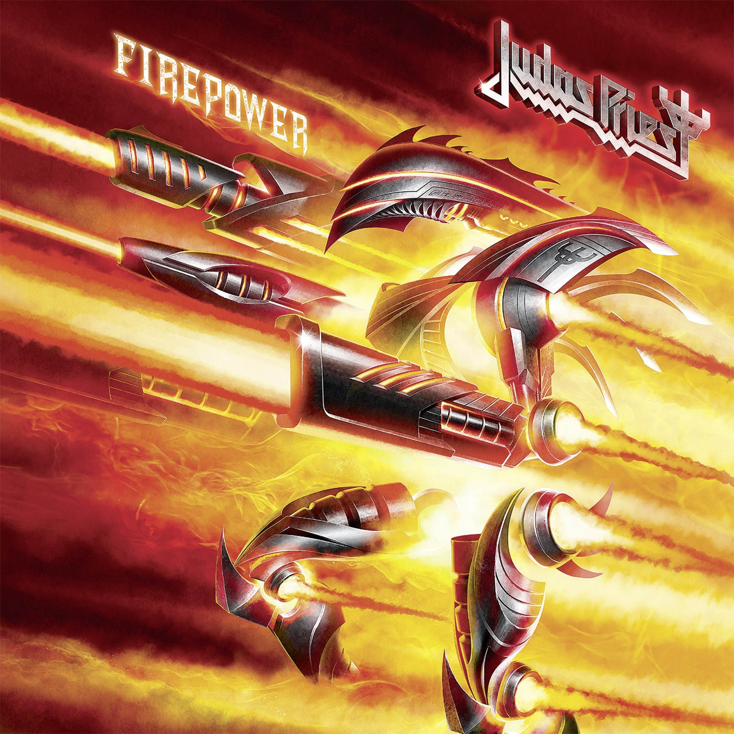 Judas Priest: Firepower (2018) Book Cover
