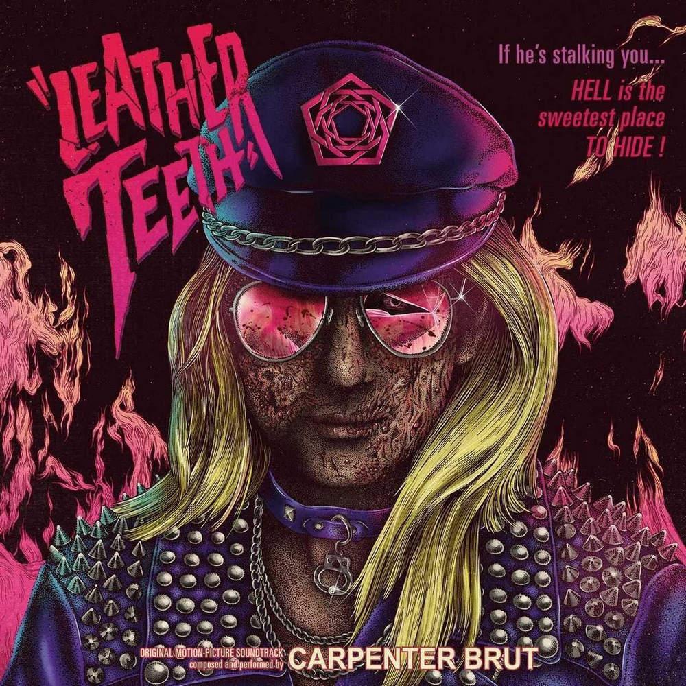 Carpenter Brut: Leather Teeth (2018) Book Cover