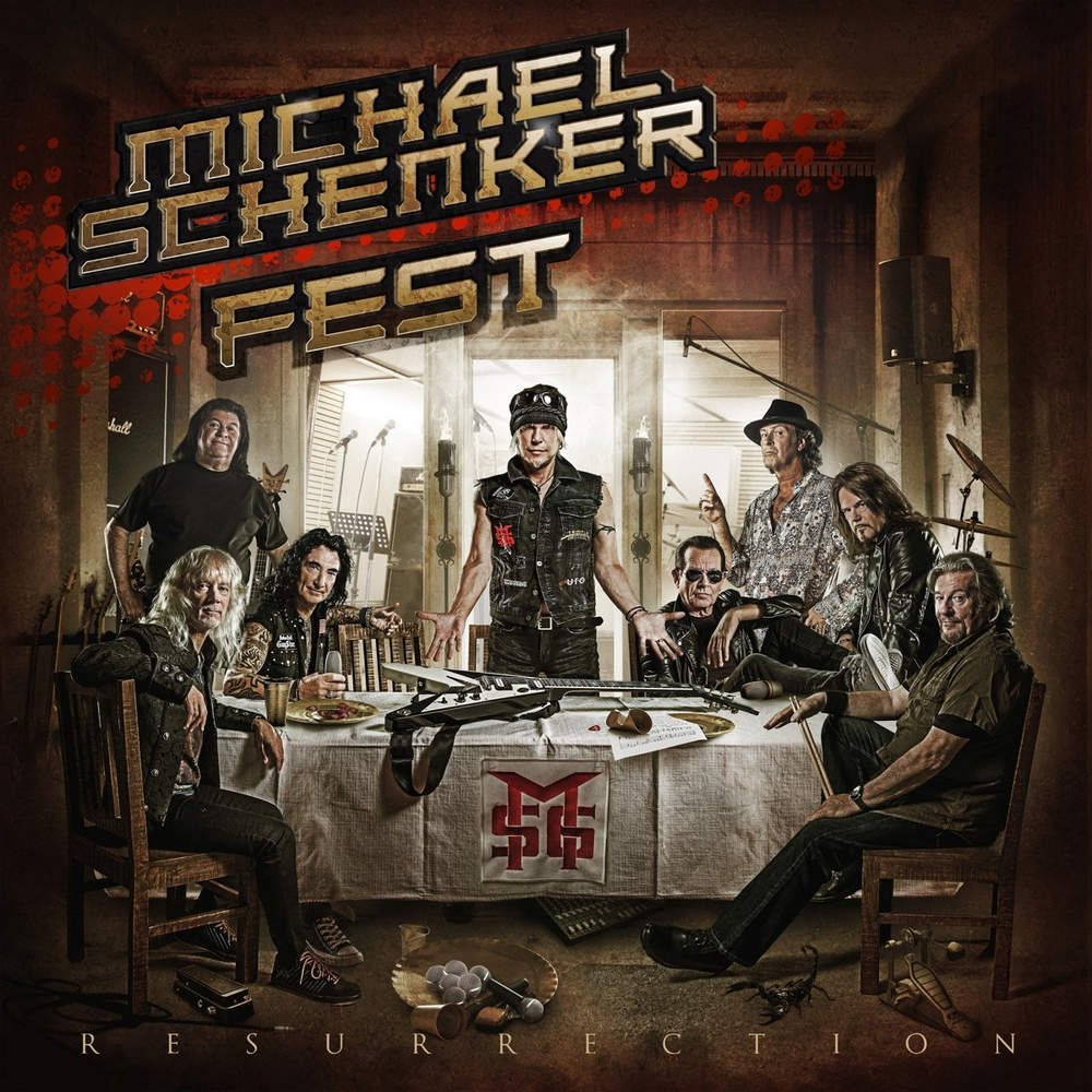 Michael Schenker Fest: Resurrection (2018) Book Cover
