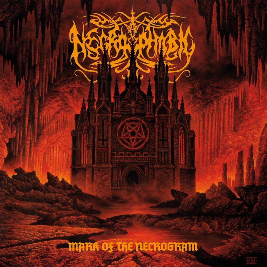 Necrophobic: Mark Of The Necrogram (2018) Book Cover