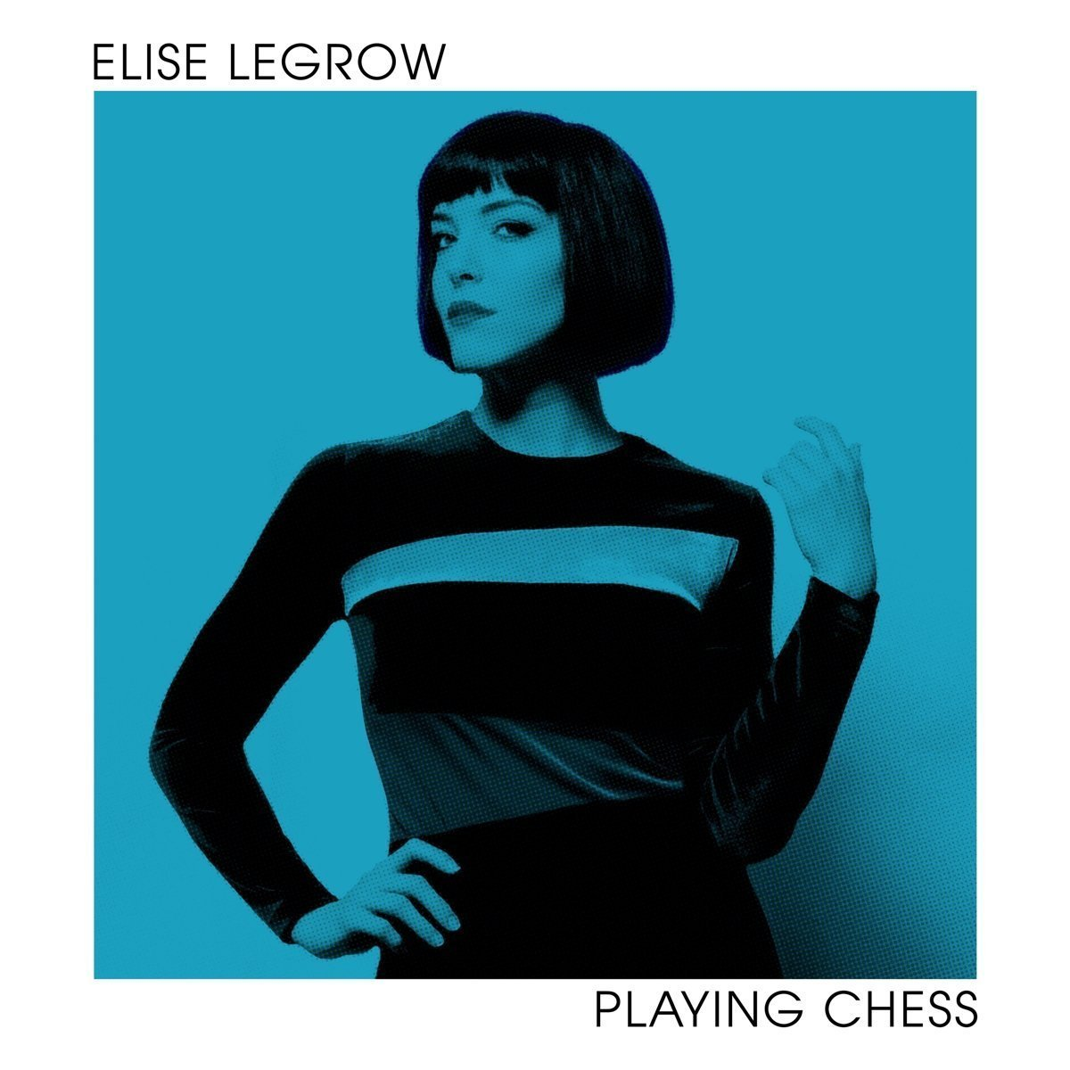 Elise LeGrow: Playing Chess (2018) Book Cover
