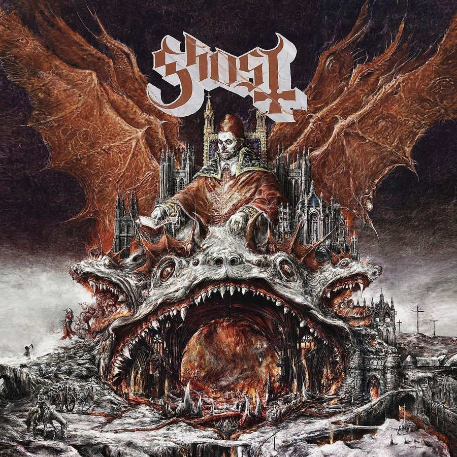 Ghost: Prequelle (2018) Book Cover