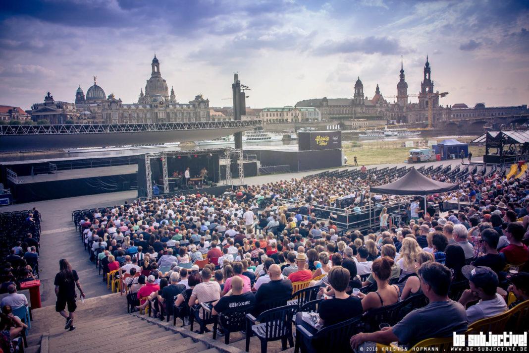 Rainald Grebe, Filmnächte Dresden (Foto: Kristin Hofmann bs! 2018)