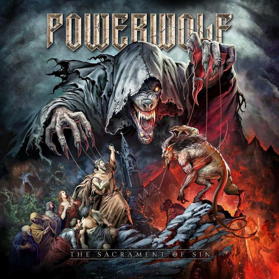 Powerwolf: The Sacrament Of Sin (2018) Book Cover