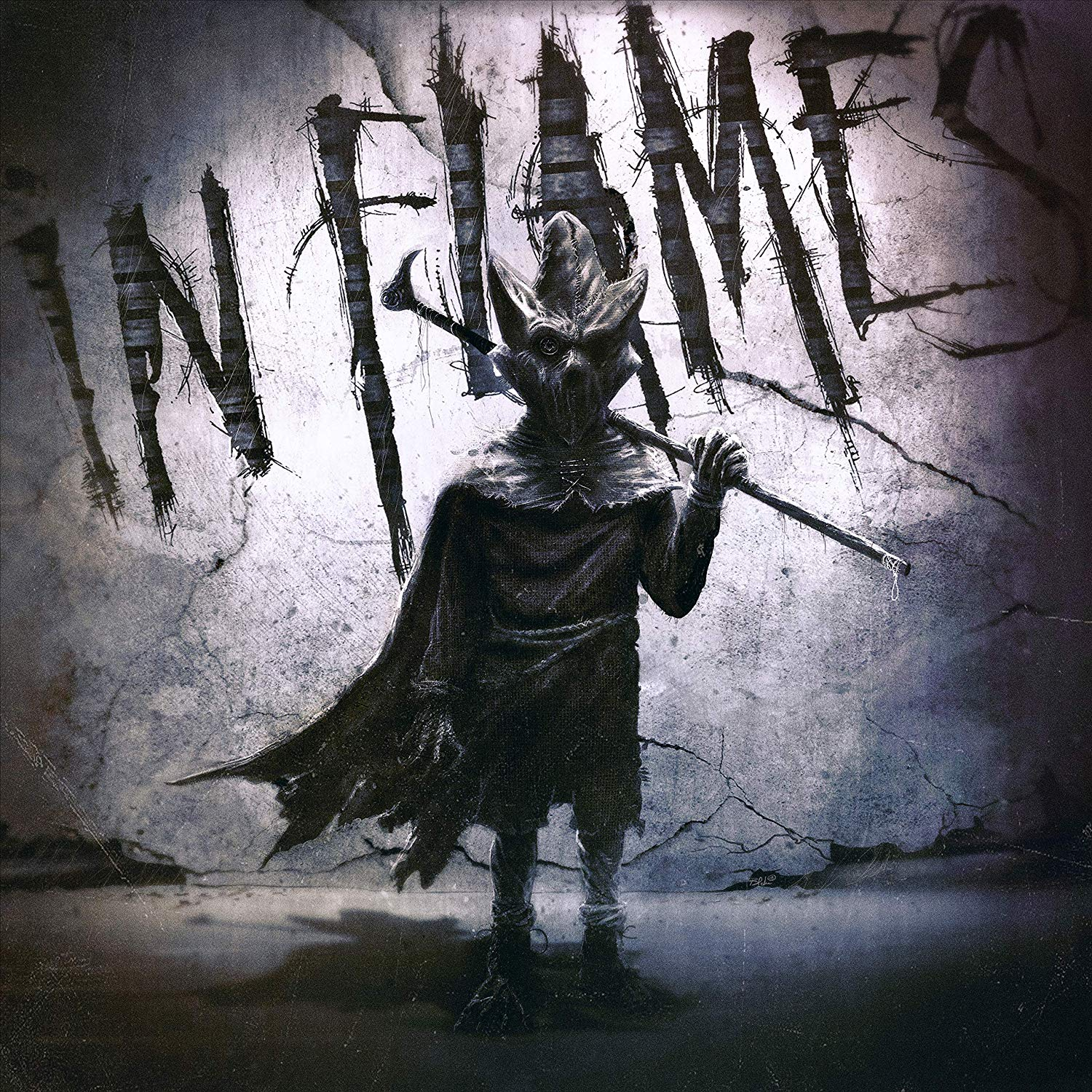 In Flames: I, The Mask (2019) Book Cover