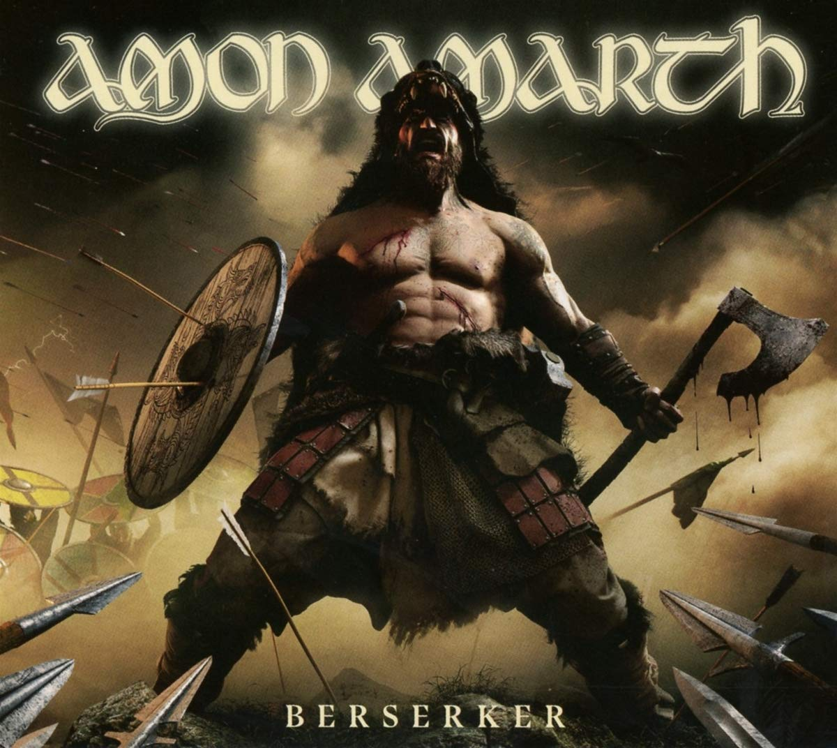 Amon Amarth: Berserker (2019) Book Cover