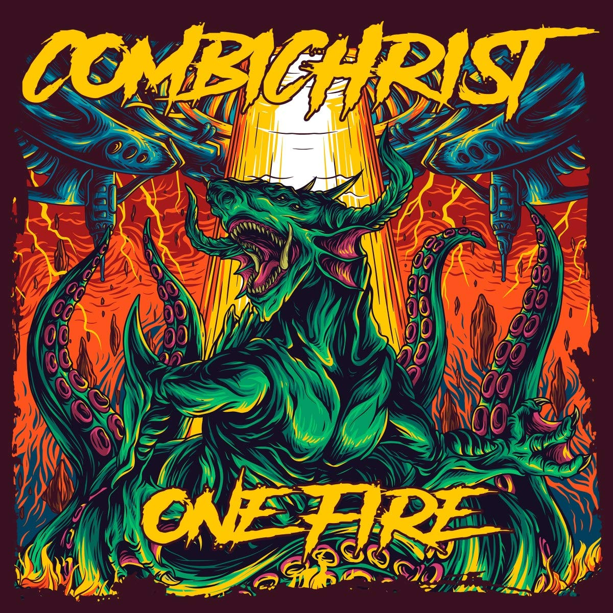 Combichrist: One Fire (2019) Book Cover