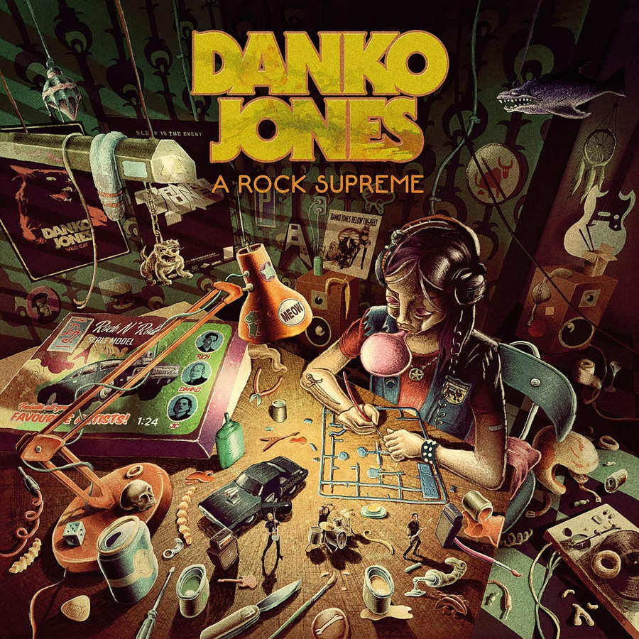 Danko Jones: A Rock Supreme (2019) Book Cover