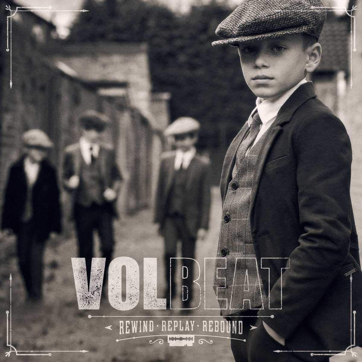 Volbeat: Rewind, Replay, Rebound (2019) Book Cover