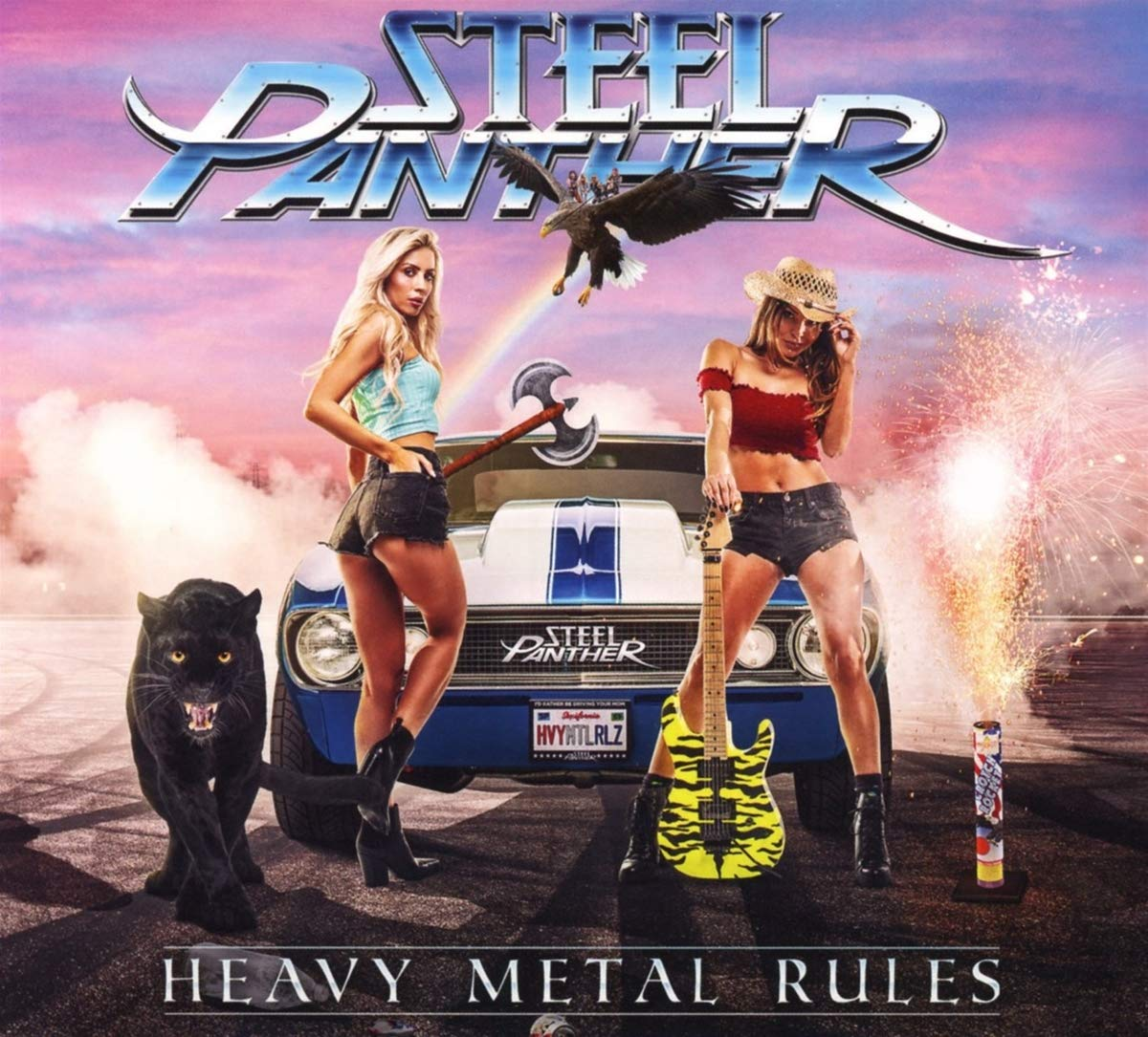 Steel Panther: Heavy Metal Rules (2019) Book Cover