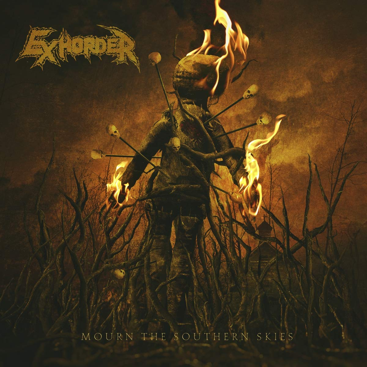 Exhorder: Mourn The Southern Skies (2019) Book Cover