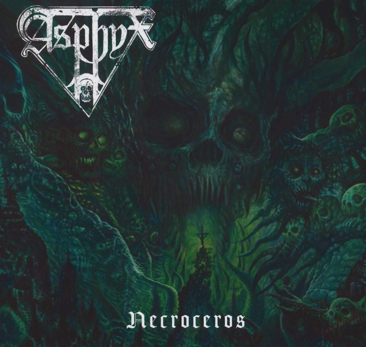 Asphyx: Necroceros (2021) Book Cover
