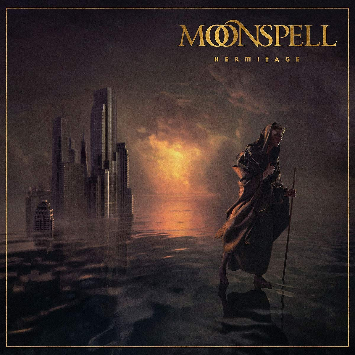 Moonspell: Hermitage (2021) Book Cover