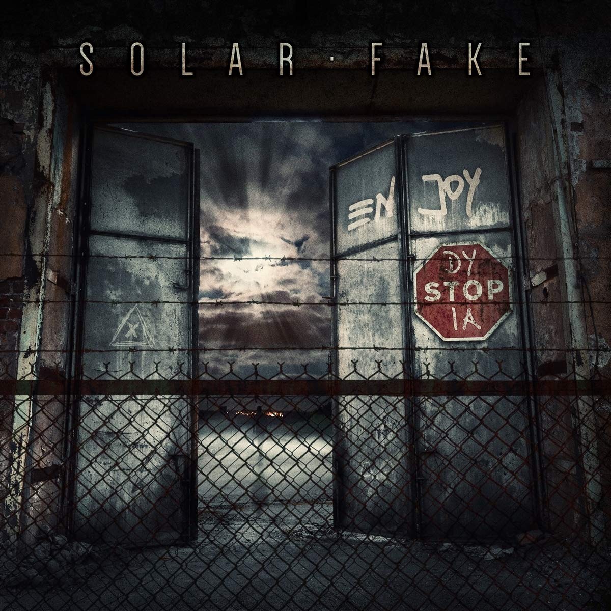 Solar Fake: Enjoy Dystopia (2021) Book Cover
